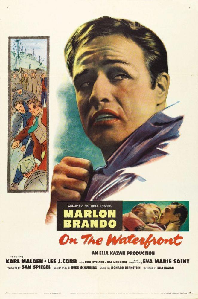 On the Waterfront Movie Poster, Movie Poster, Poster Satış, all posters, kanvas tablo, canvas print sales