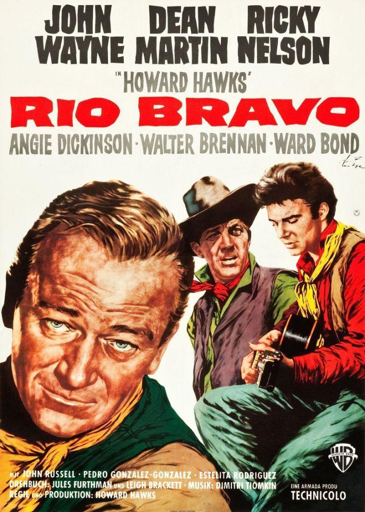 Rio Bravo Movie Poster, Movie Poster, Poster Satış, all posters, kanvas tablo, canvas print sales