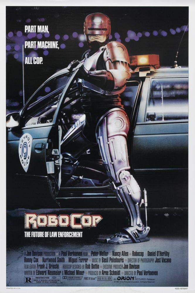 RoboCop Film Posteri, Film Posteri, Poster Satış, all posters, kanvas tablo, canvas print sales