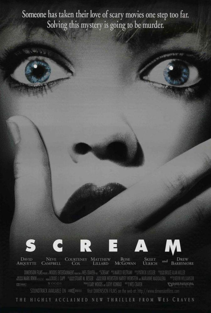Scream Movie Poster 2, Movie Poster, Poster Satış, all posters, kanvas tablo, canvas print sales