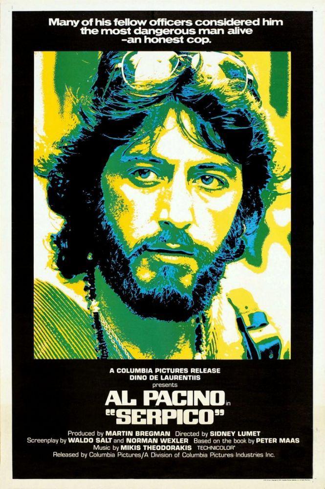 Serpico Movie Poster 2, Movie Poster, Poster Satış, all posters, kanvas tablo, canvas print sales
