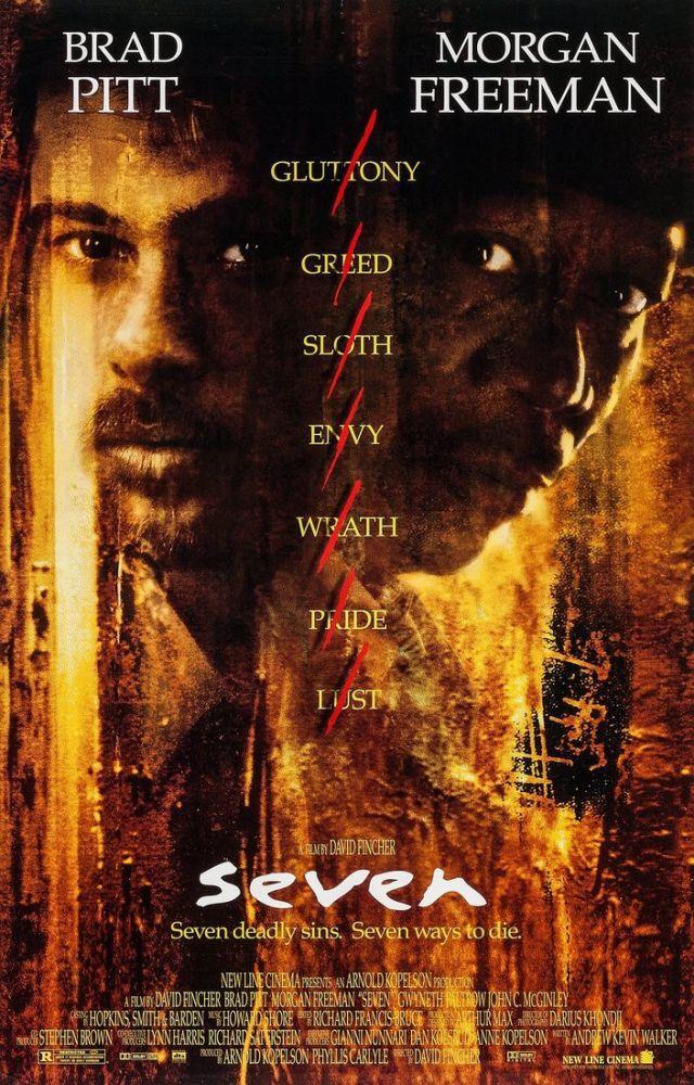 Se7en Movie Poster, Movie Poster, Poster Satış, all posters, kanvas tablo, canvas print sales