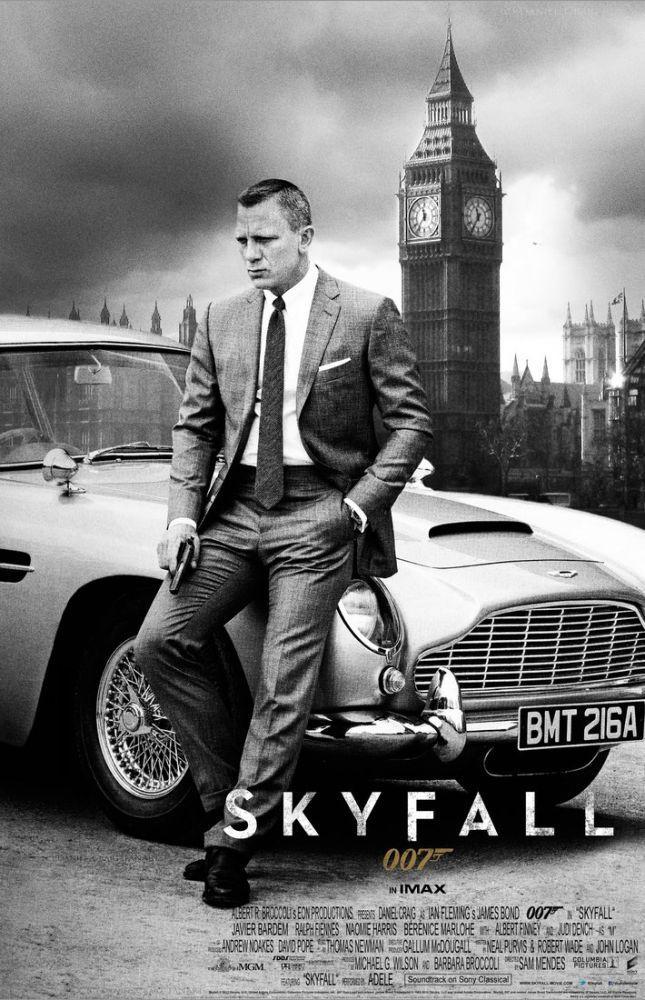 Skyfall Movie Poster, Movie Poster, Poster Satış, all posters, kanvas tablo, canvas print sales