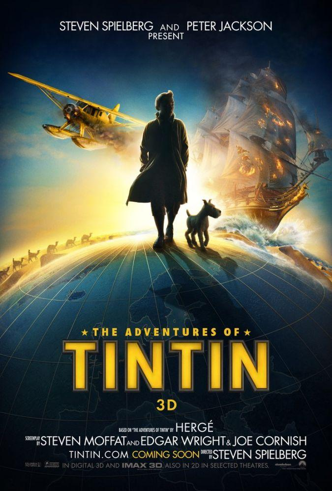 The Adventures of Tintin Movie Poster, Movie Poster, Poster Satış, all posters, kanvas tablo, canvas print sales