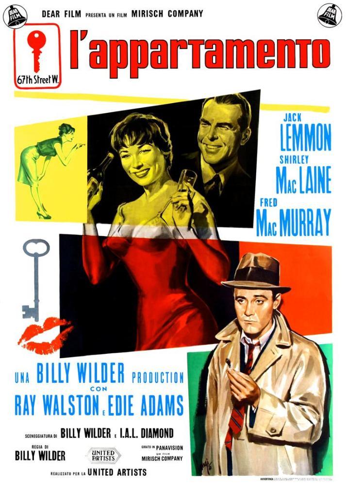 The Apartment Movie Poster, Movie Poster, Poster Satış, all posters, kanvas tablo, canvas print sales