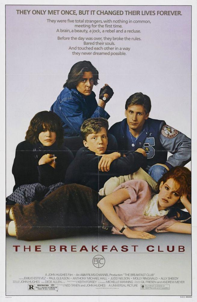 The Breakfast Club Movie Poster, Movie Poster, Poster Satış, all posters, kanvas tablo, canvas print sales