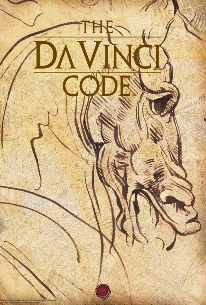 The Da Vinci Code Movie Poster, Movie Poster, Poster Satış, all posters, kanvas tablo, canvas print sales