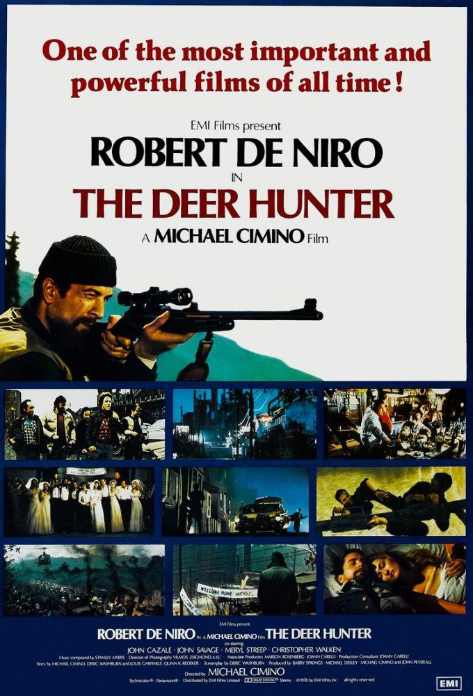 The Deer Hunter Movie Poster 2, Movie Poster, Poster Satış, all posters, kanvas tablo, canvas print sales
