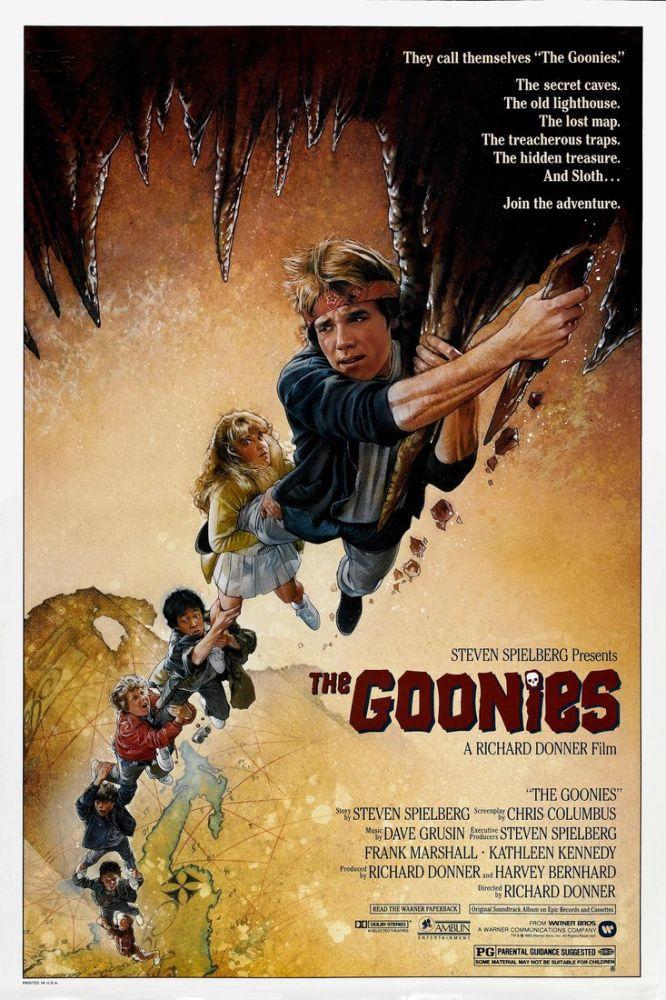 The Goonies Movie Poster, Movie Poster, Poster Satış, all posters, kanvas tablo, canvas print sales