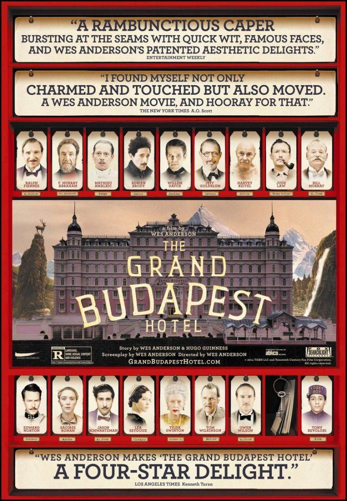 Büyük Budapeşte Oteli Film Posteri, Film Posteri, Poster Satış, all posters, kanvas tablo, canvas print sales