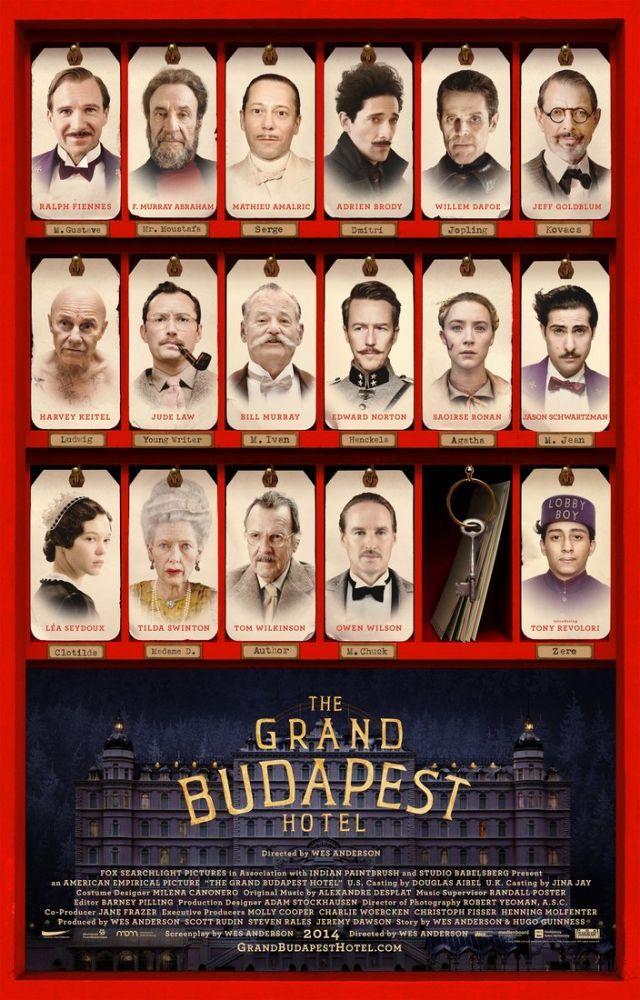 Büyük Budapeşte Oteli Film Posteri 2, Film Posteri, Poster Satış, all posters, kanvas tablo, canvas print sales