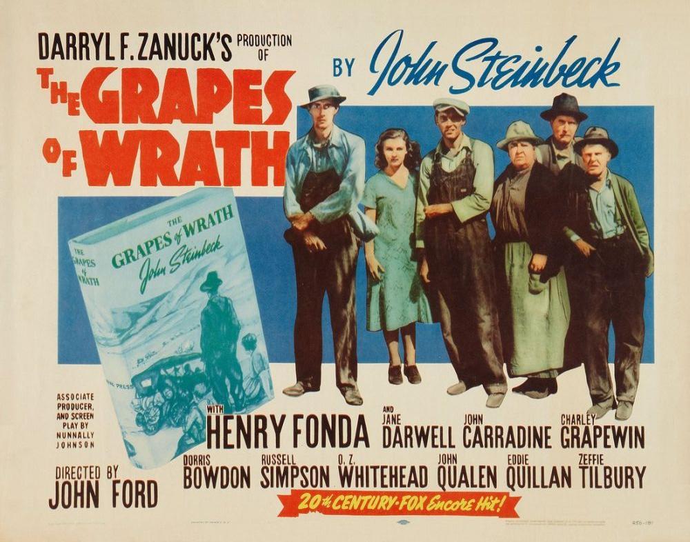 The Grapes of Wrath Movie Poster, Movie Poster, Poster Satış, all posters, kanvas tablo, canvas print sales
