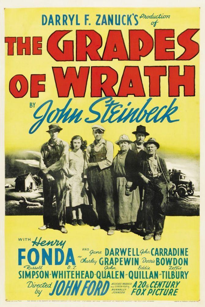 The Grapes of Wrath Movie Poster 2, Movie Poster, Poster Satış, all posters, kanvas tablo, canvas print sales