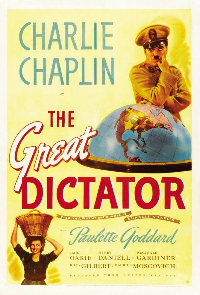 Büyük Diktatör Film Posteri, Film Posteri, Poster Satış, all posters, kanvas tablo, canvas print sales