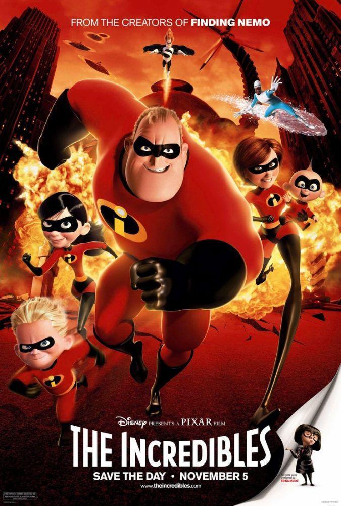 The Incredibles Movie Poster, Movie Poster, Poster Satış, all posters, kanvas tablo, canvas print sales