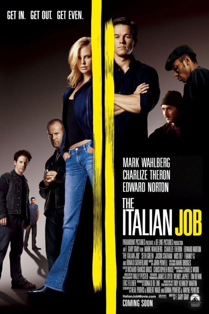 The Italian Job Movie Poster 2, Movie Poster, Poster Satış, all posters, kanvas tablo, canvas print sales