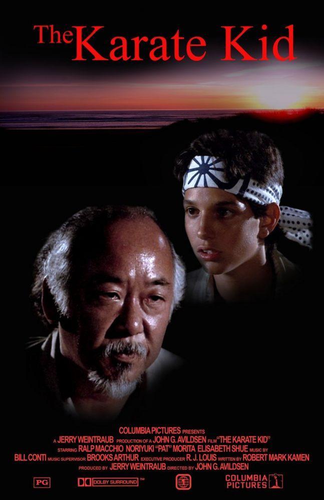 The Karate Kid Movie Poster 2, Movie Poster, Poster Satış, all posters, kanvas tablo, canvas print sales