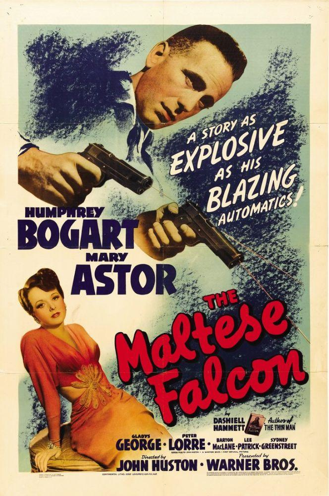 The Maltese Falcon Movie Poster, Movie Poster, Poster Satış, all posters, kanvas tablo, canvas print sales