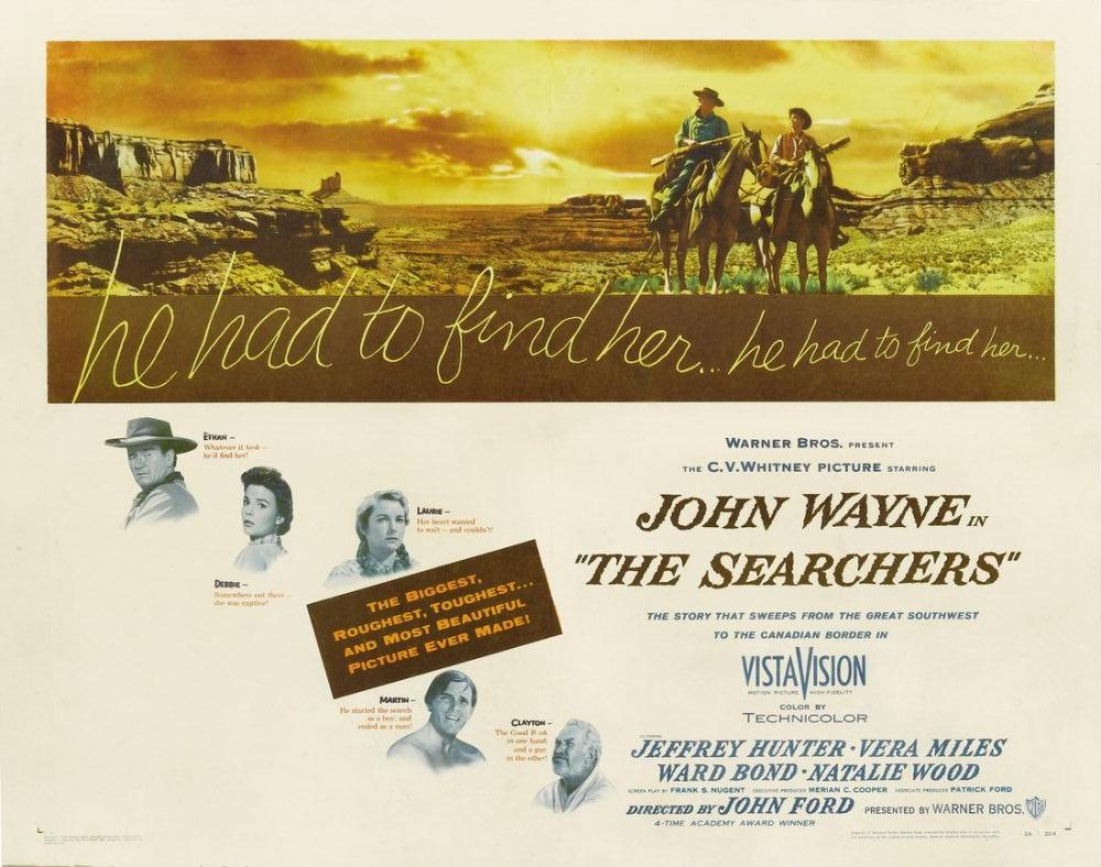 The Searchers Movie Poster 3, Movie Poster, Poster Satış, all posters, kanvas tablo, canvas print sales