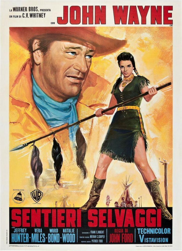 The Searchers Movie Poster 4, Movie Poster, Poster Satış, all posters, kanvas tablo, canvas print sales