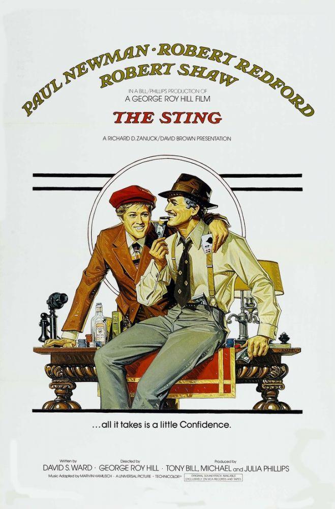 The Sting Movie Poster, Movie Poster, Poster Satış, all posters, kanvas tablo, canvas print sales