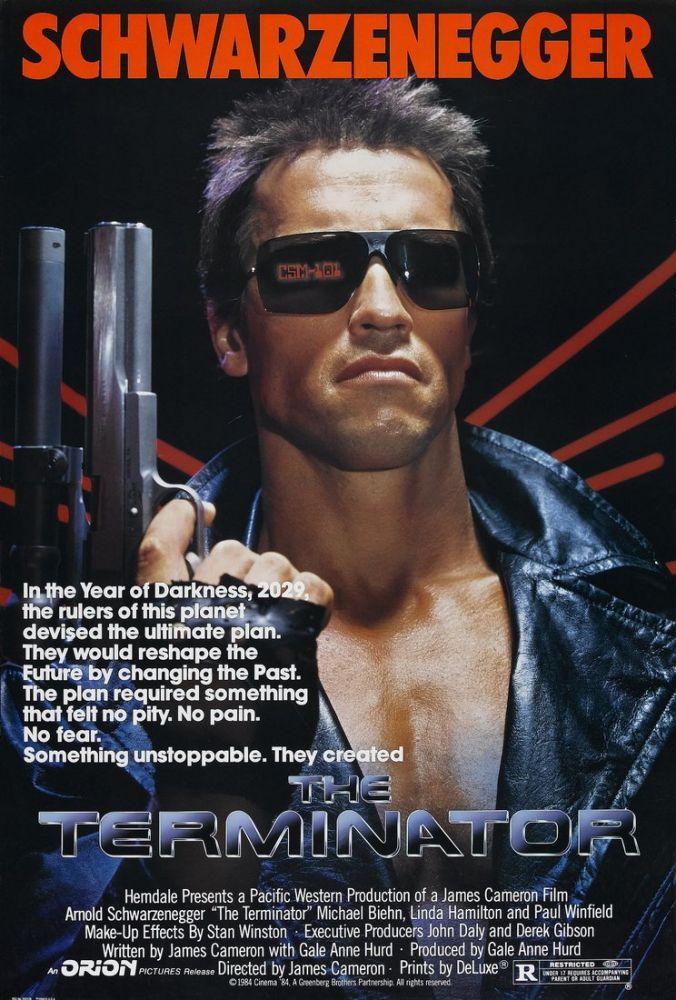 The Terminator Movie Poster, Movie Poster, Poster Satış, all posters, kanvas tablo, canvas print sales