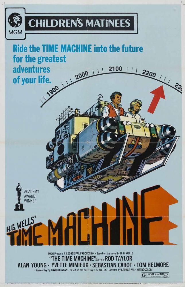 The Time Machine Movie Poster, Movie Poster, Poster Satış, all posters, kanvas tablo, canvas print sales