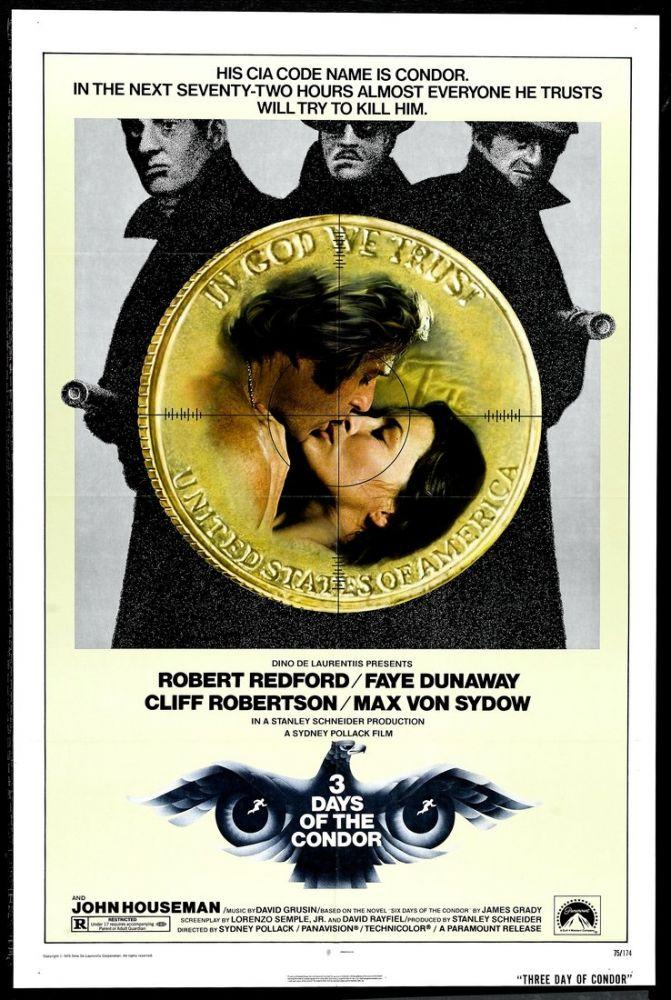 Three Days of the Condor Movie Poster, Movie Poster, Poster Satış, all posters, kanvas tablo, canvas print sales