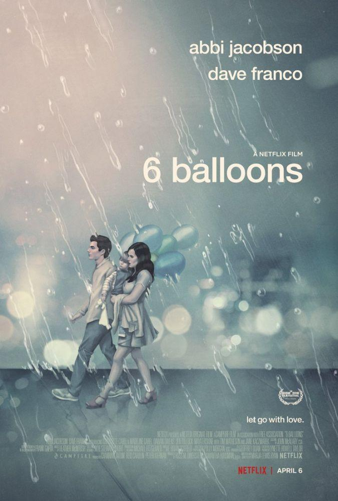 6 Balloons Movie Poster, Movie Poster, Poster Satış, all posters, kanvas tablo, canvas print sales