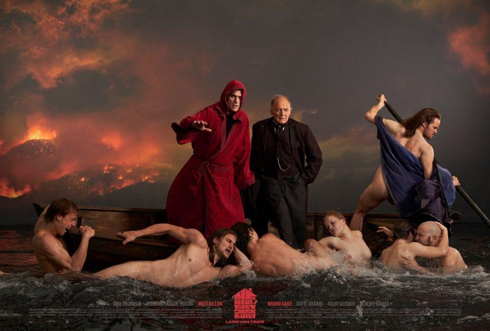 The House That Jack Built Movie Poster, Movie Poster, Poster Satış, all posters, kanvas tablo, canvas print sales