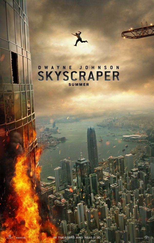 Skyscraper Movie Poster, Movie Poster, Poster Satış, all posters, kanvas tablo, canvas print sales