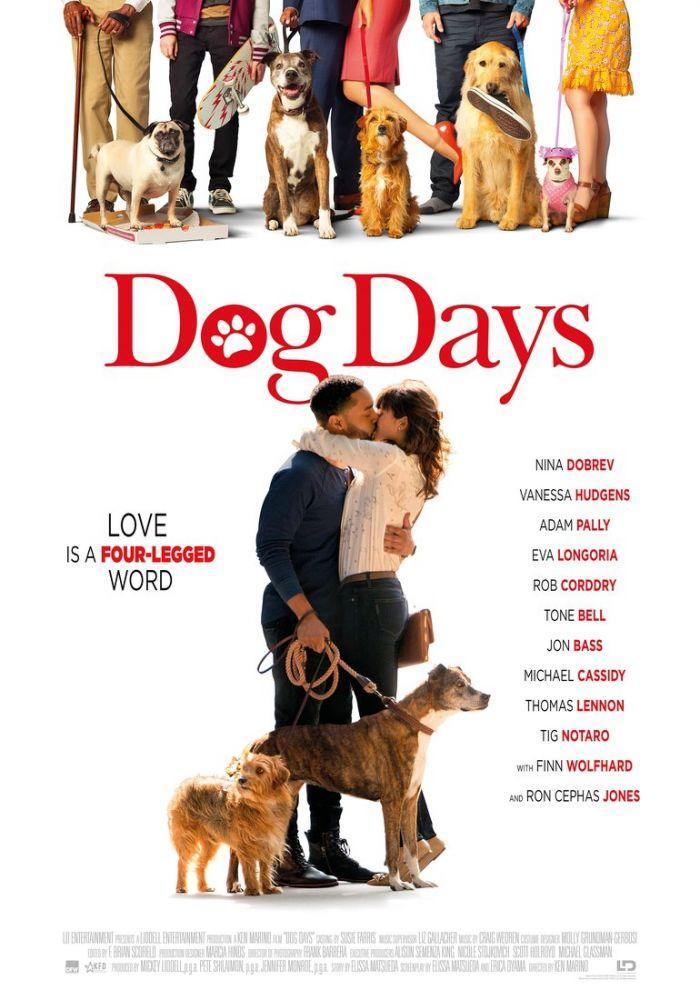 Dog Days Movie Poster, Movie Poster, Poster Satış, all posters, kanvas tablo, canvas print sales