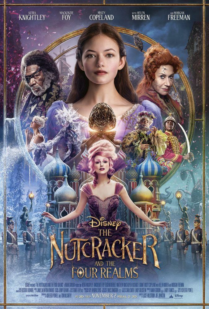 The Nutcracker and the Four Realms Movie Poster, Movie Poster, Poster Satış, all posters, kanvas tablo, canvas print sales