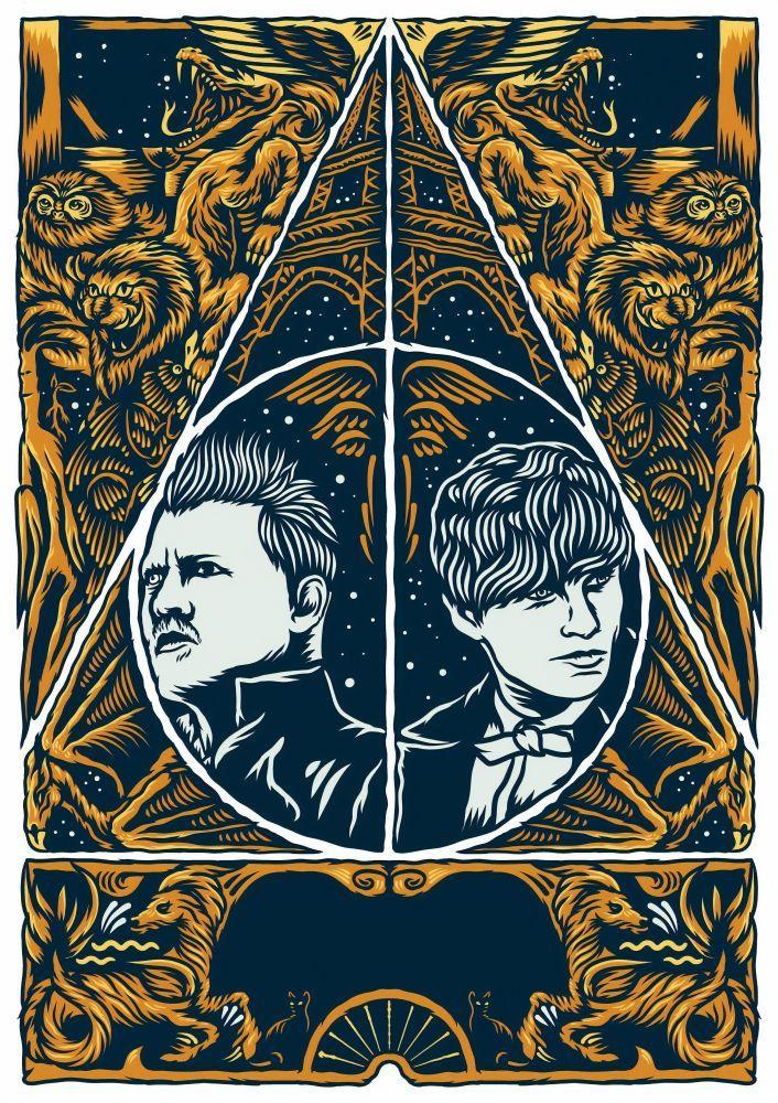 Fantastik Canavarlar: Grindelwald ın Suçları Film Posteri 2, Film Posteri, Poster Satış, all posters, kanvas tablo, canvas print sales