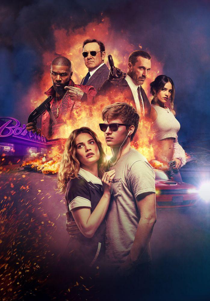 Baby Driver Movie Poster, Movie Poster, Poster Satış, all posters, kanvas tablo, canvas print sales