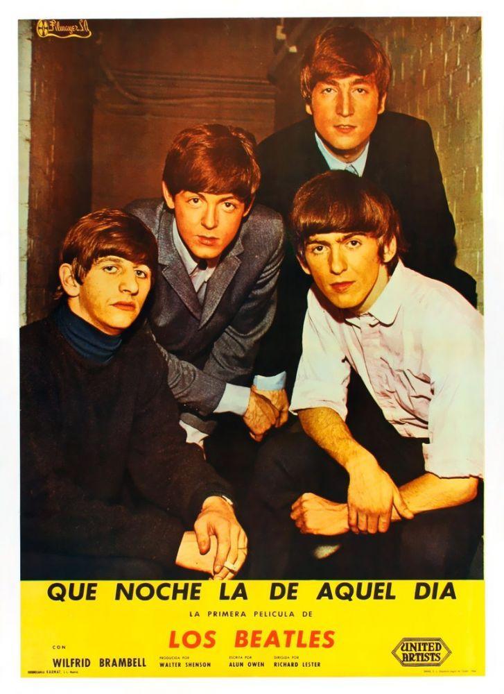 A Hard Day s Night Movie Poster, Movie Poster, Poster Satış, all posters, kanvas tablo, canvas print sales