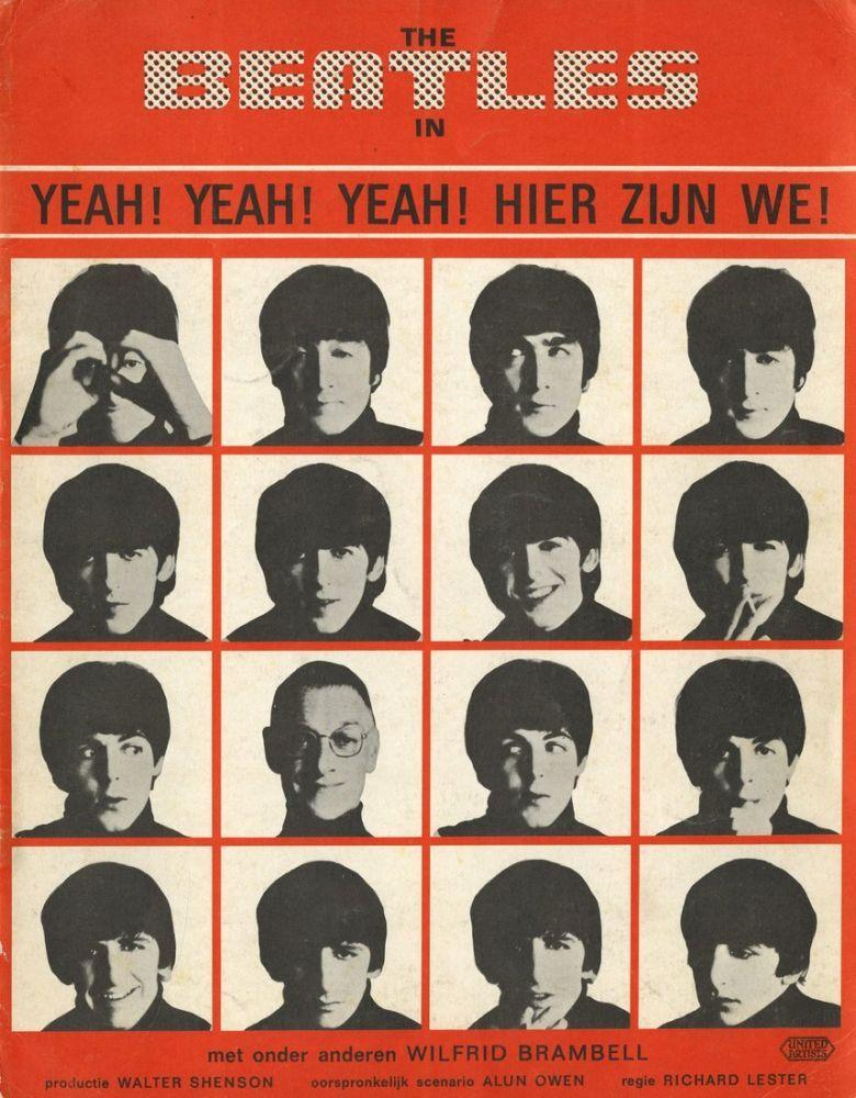 A Hard Day s Night Movie Poster 4, Movie Poster, Poster Satış, all posters, kanvas tablo, canvas print sales