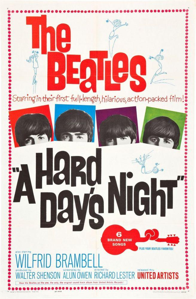 A Hard Day s Night Movie Poster 8, Movie Poster, Poster Satış, all posters, kanvas tablo, canvas print sales