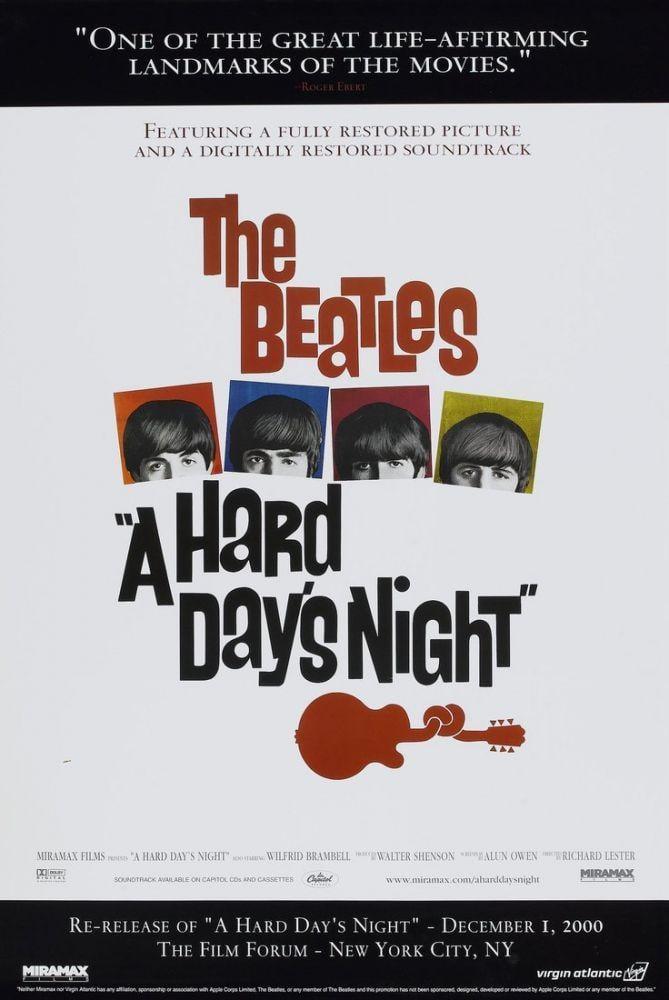 A Hard Day s Night Movie Poster 9, Movie Poster, Poster Satış, all posters, kanvas tablo, canvas print sales