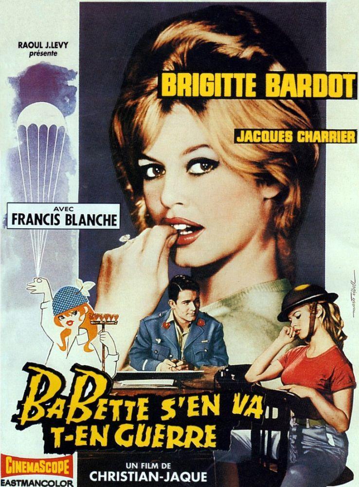 Babette Goes to War Brigitte Bardot Movie Poster 2, Movie Poster, Poster Satış, all posters, kanvas tablo, canvas print sales