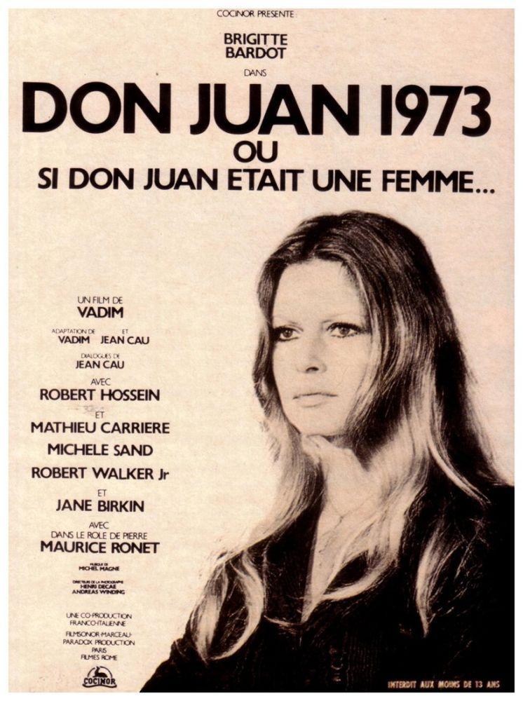 Don Juan  74 Brigitte Bardot Movie Poster, Movie Poster, Poster Satış, all posters, kanvas tablo, canvas print sales