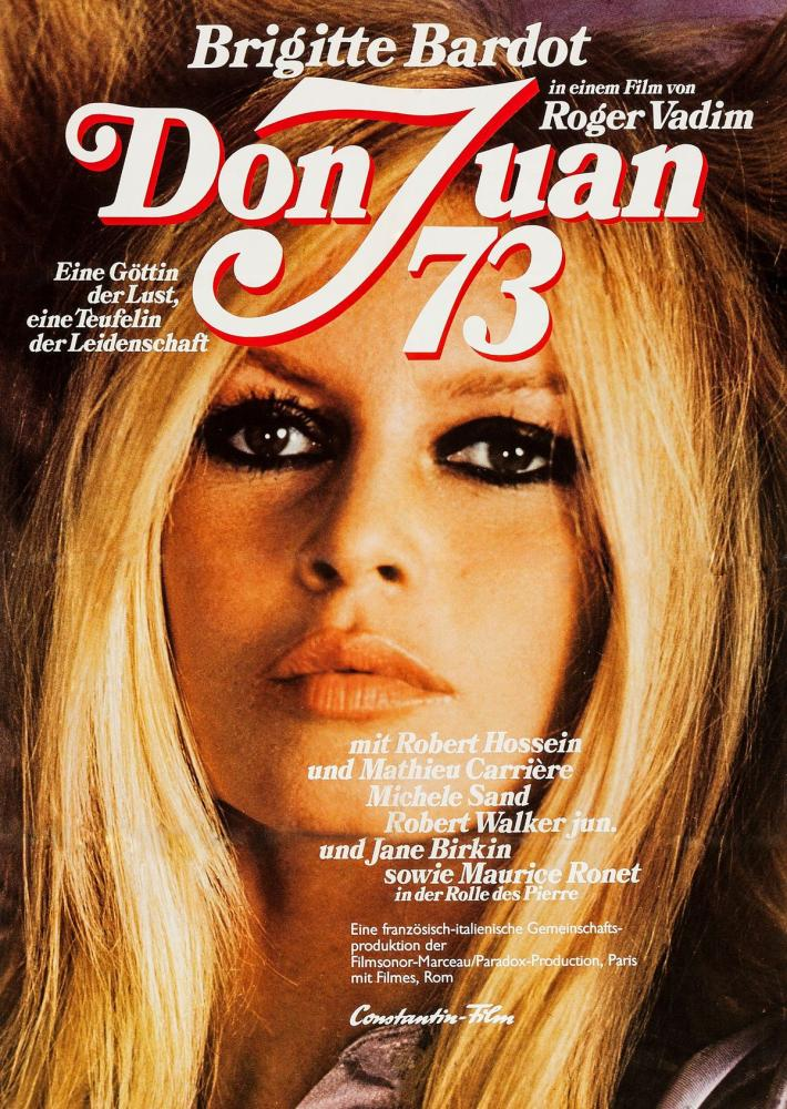 Don Juan  73  Brigitte Bardot Film Posteri 3, Film Posteri, Poster Satış, all posters, kanvas tablo, canvas print sales