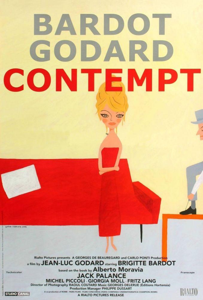 Contempt Brigitte Bardot Movie Poster, Movie Poster, Poster Satış, all posters, kanvas tablo, canvas print sales