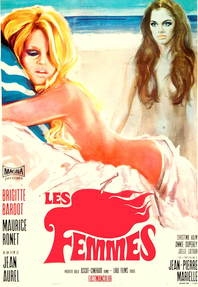 Les Femmes Brigitte Bardot Movie Poster, Movie Poster, Poster Satış, all posters, kanvas tablo, canvas print sales