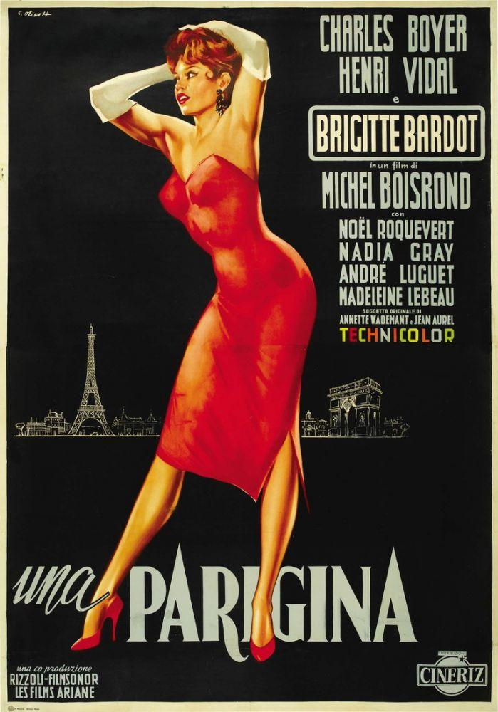 La Parisienne Brigitte Bardot Movie Poster 4, Movie Poster, Poster Satış, all posters, kanvas tablo, canvas print sales