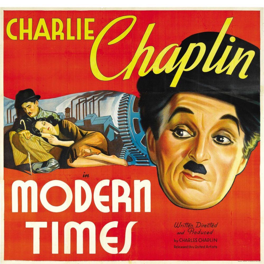 Modern Zamanlar Charlie Chaplin Film Posteri, Film Posteri, Poster Satış, all posters, kanvas tablo, canvas print sales