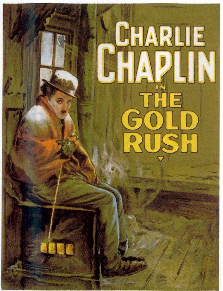 Altına Hücum Charlie Chaplin Film Posteri 2, Film Posteri, Poster Satış, all posters, kanvas tablo, canvas print sales
