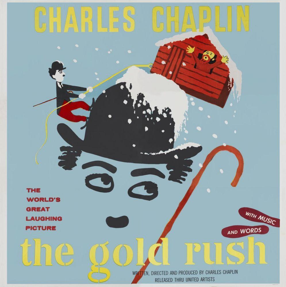 Altına Hücum Charlie Chaplin Film Posteri 3, Film Posteri, Poster Satış, all posters, kanvas tablo, canvas print sales