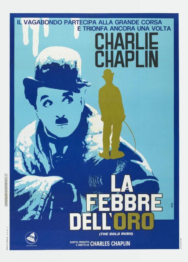 Altına Hücum Charlie Chaplin Film Posteri 4, Film Posteri, Poster Satış, all posters, kanvas tablo, canvas print sales