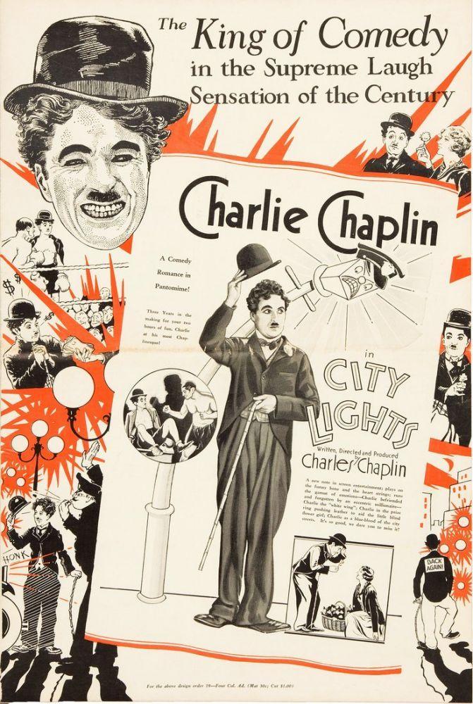 City Lights Charlie Chaplin Movie Poster, Movie Poster, Poster Satış, all posters, kanvas tablo, canvas print sales